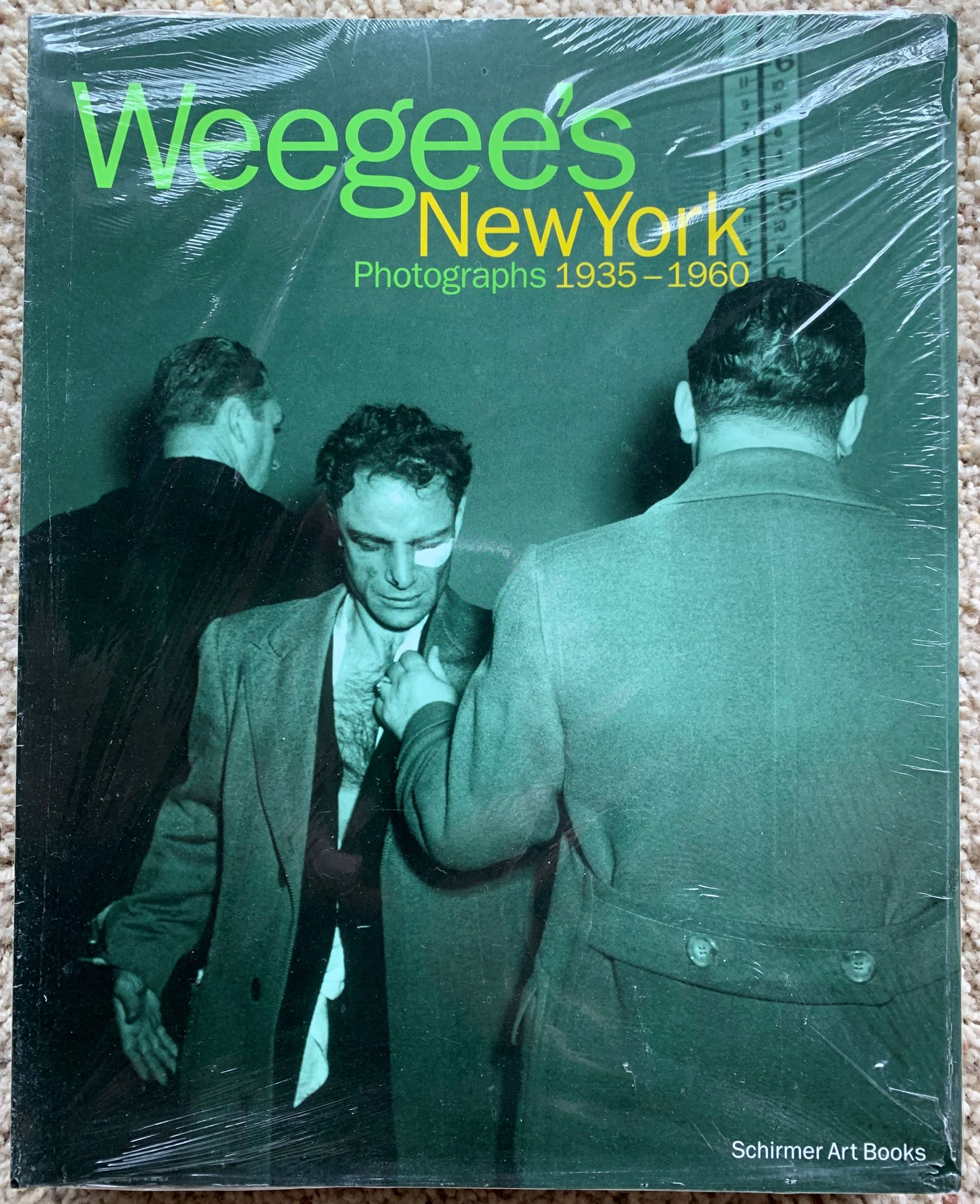 Image for Weegee's New York: photographs 1935-1960.