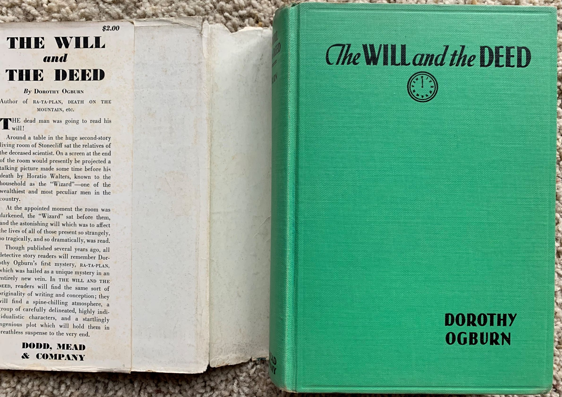 Image for The Will and the Deed.