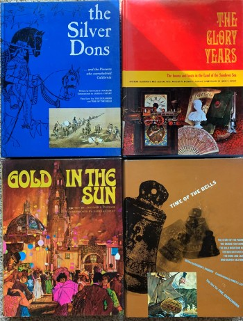 Image for [Four of Five Volumes, 2 through 5] Time of the Bells; The Silver Dons; The Glory Years; Gold in the Sun.