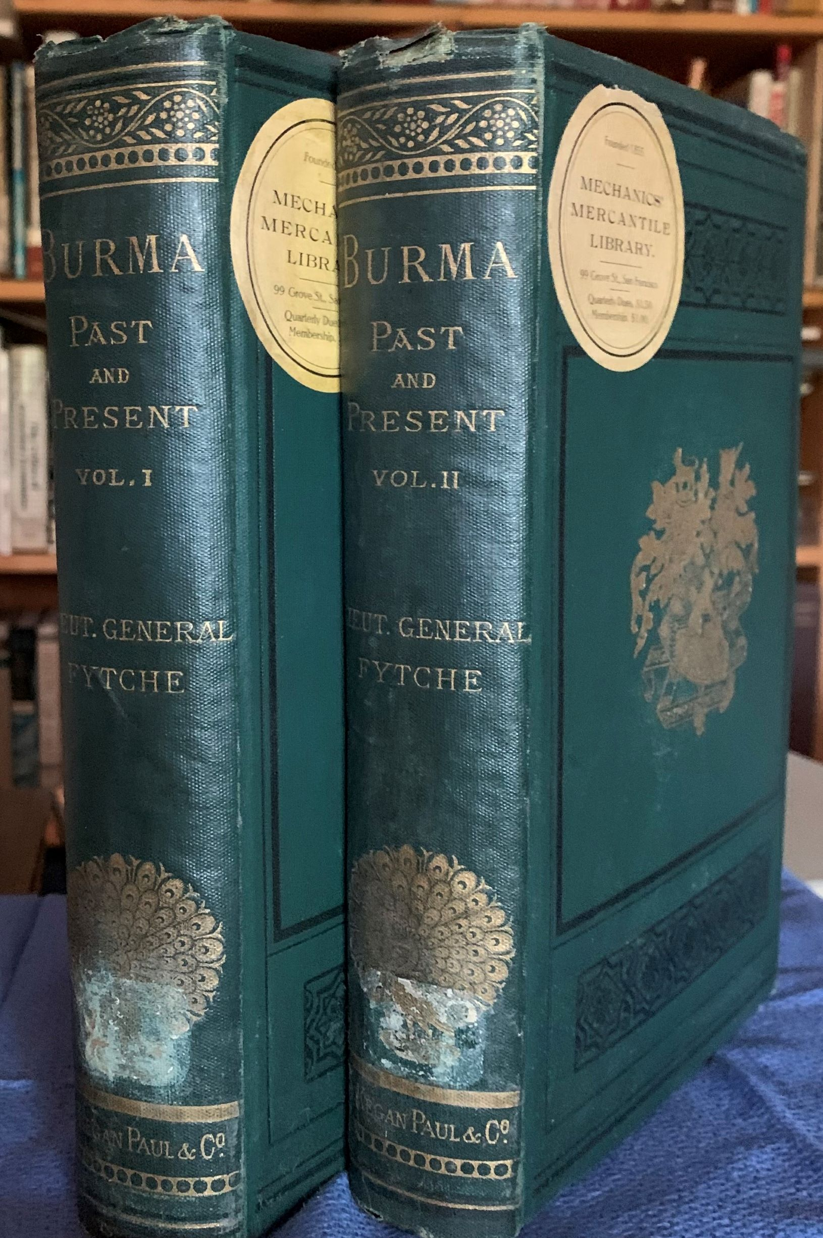 Image for Burma, Past and Present, with, Personal Reminiscences of the Country, In Two Volumes, with illustrations.