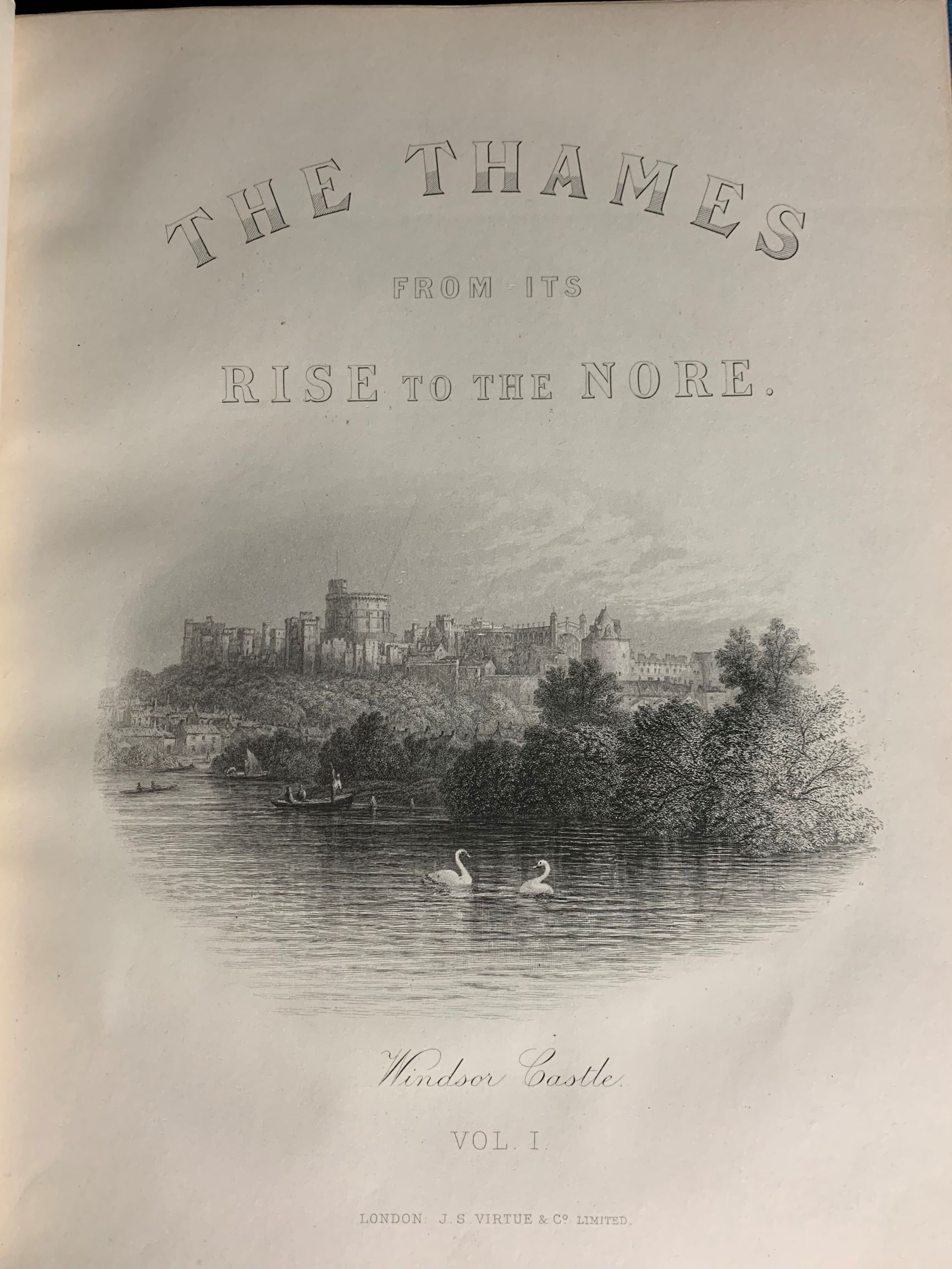 Image for The Thames, from its Rise to the Nore.  Illustrated with nearly four hundred engravings in the text, and, sixteen etchings or steel plates. In Two Volumes.