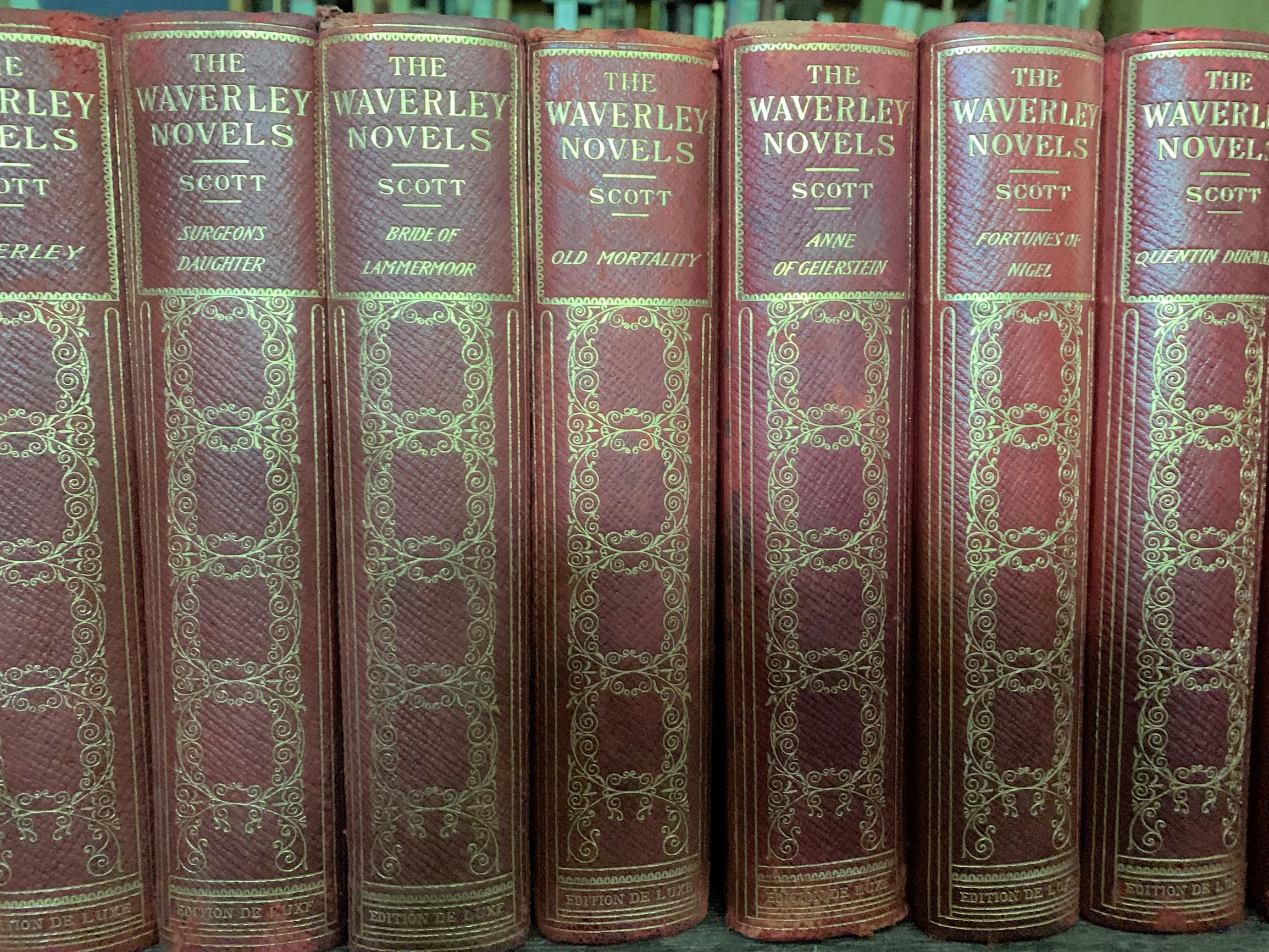 Image for The Waverley Novels of Sir Walter Scott [25 volumes, complete].