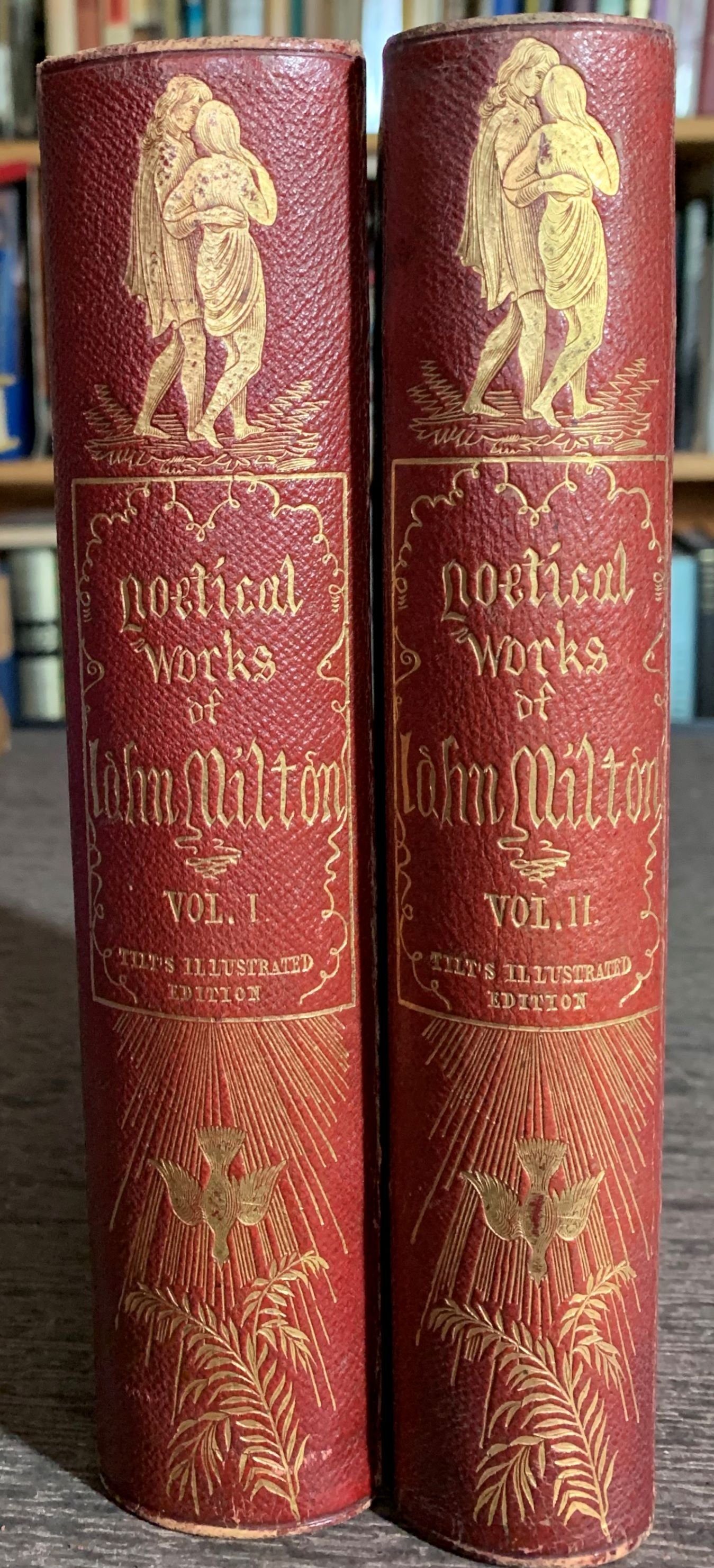 Image for The Poetical Works of John Milton.  With a Memoir, and critical remarks on his genius and writings, by James Montgomery: and one hundred and twenty engravings by John Thompson, S. and T. Williams, O. Smith, J. Linton, &c.