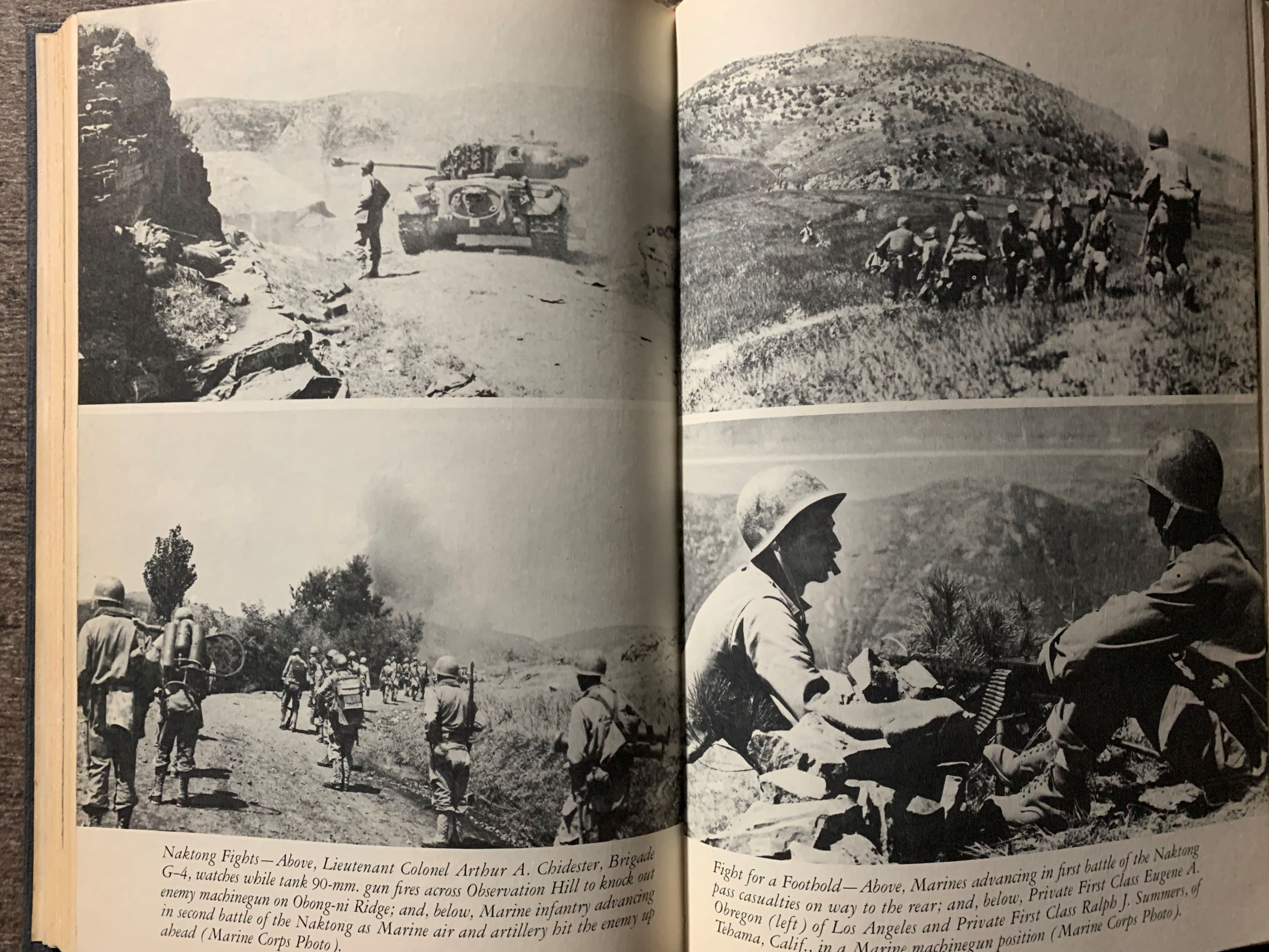 Image for U. S. Marine Operations in Korea, 1950 - 1953 [5 volumes, complete].