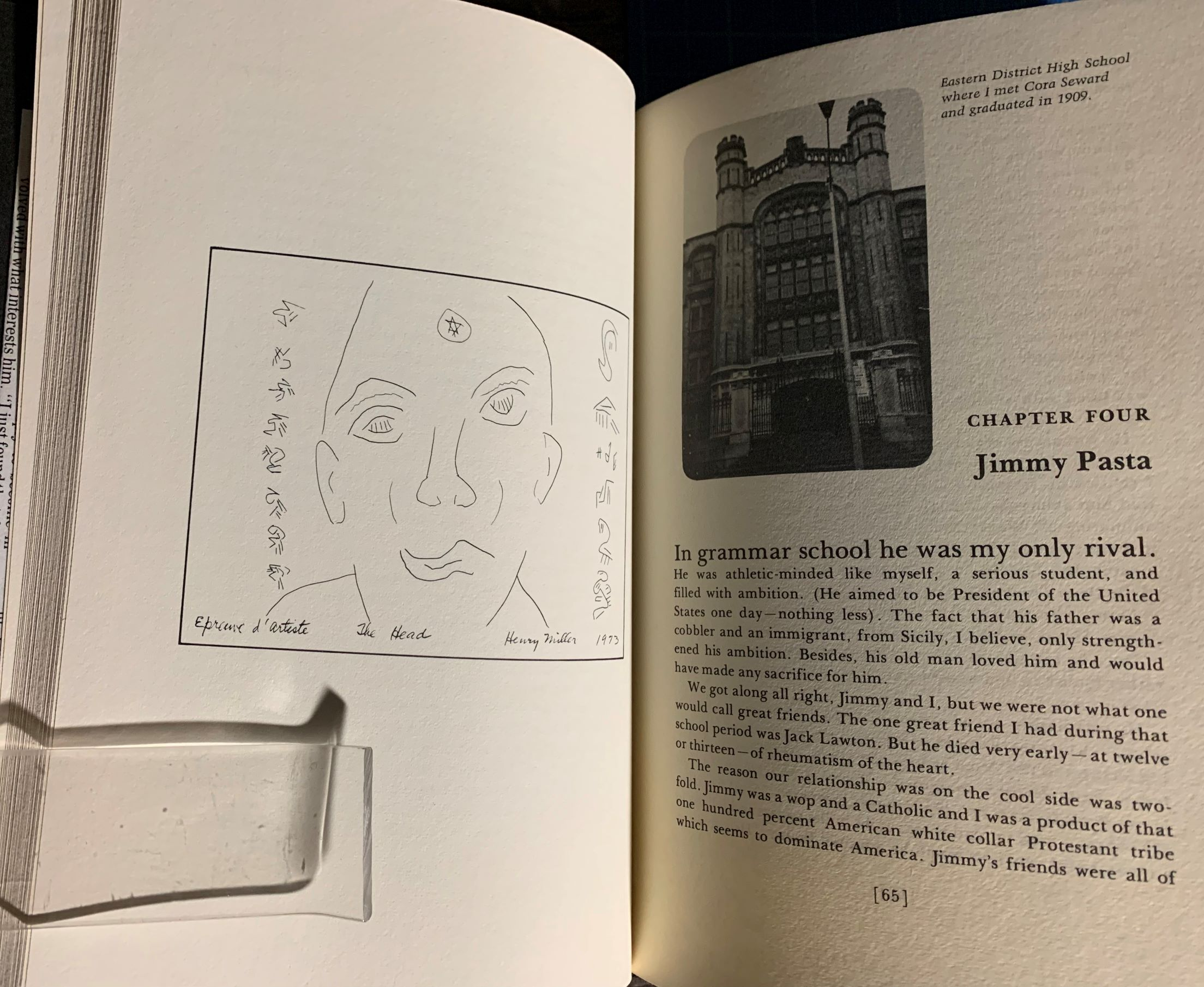 Image for Henry Miller's Book of Friends. (signed by the author)  A Tribute to Friends of Long Ago.