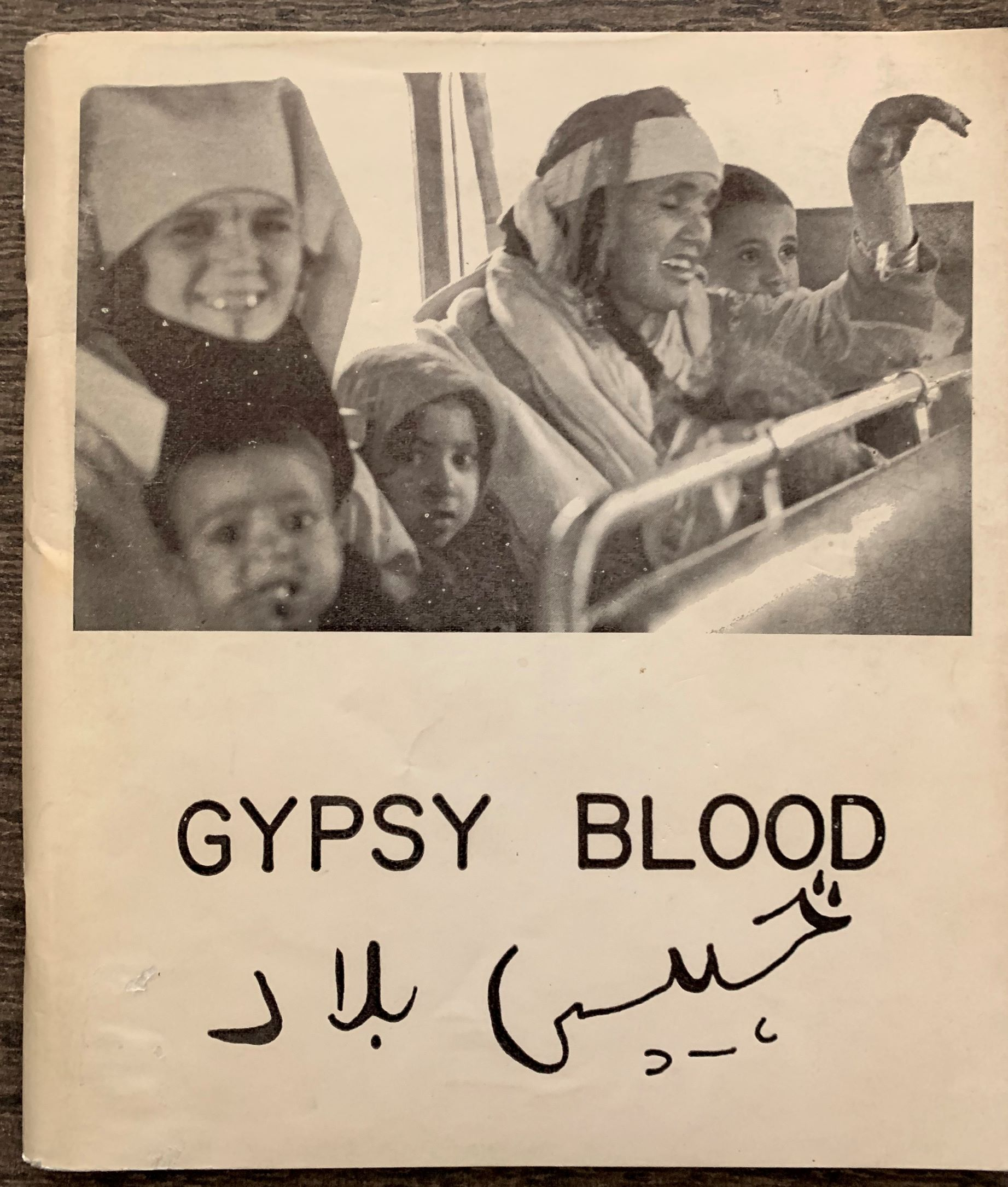 Image for Gypsy Blood.