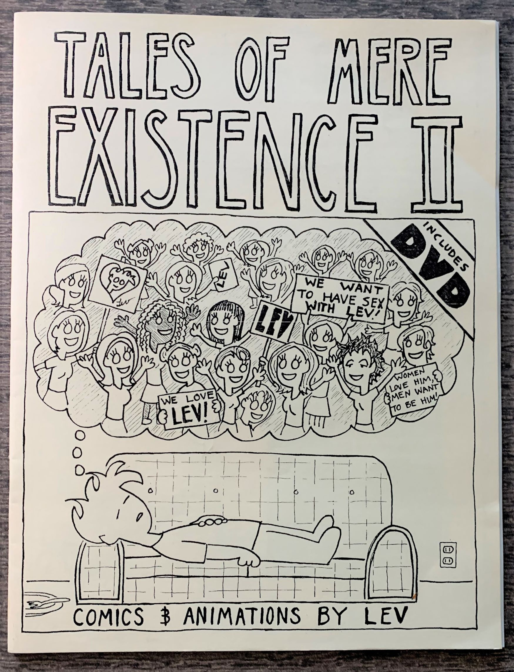 Image for Tales of Mere Existence II. Comics & Animations by Lev [cover title].