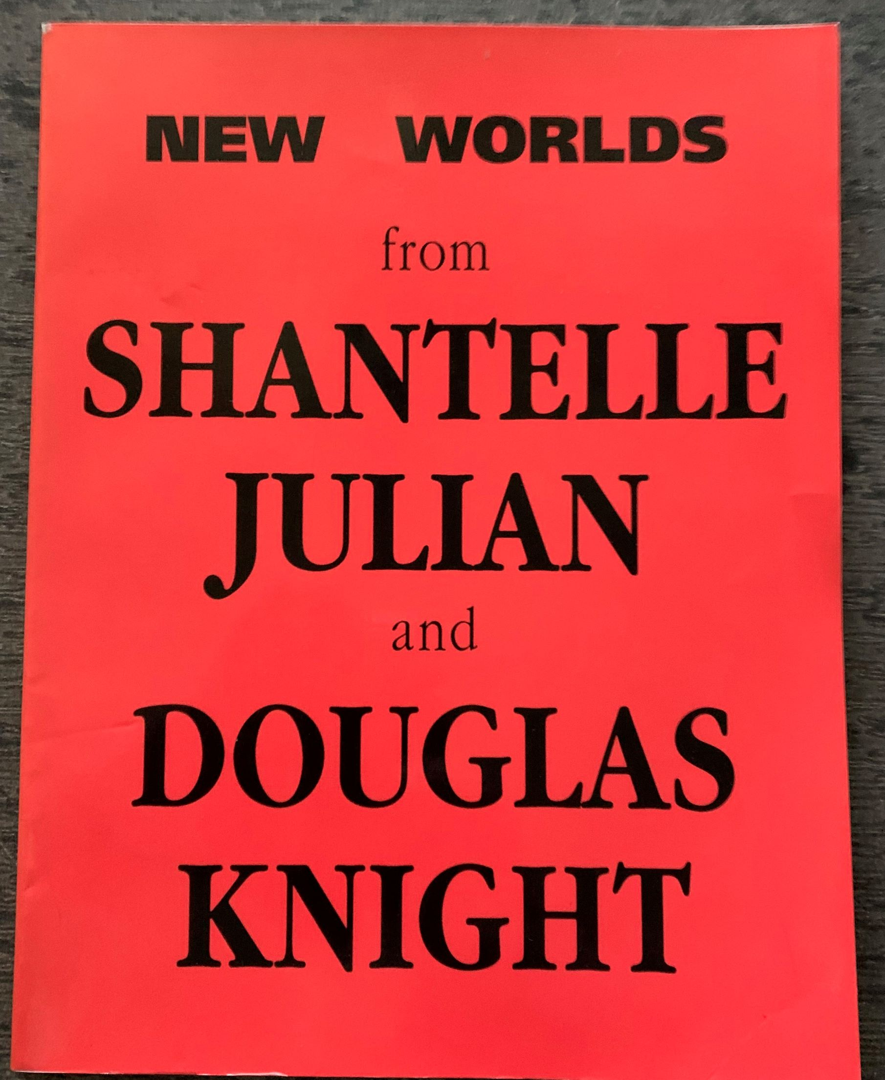 Image for New Worlds from Shantelle Julian and Douglas Knight. A diary of drawings and etching. Images from the inner mind. [with holograph illustration and signature by both artists].