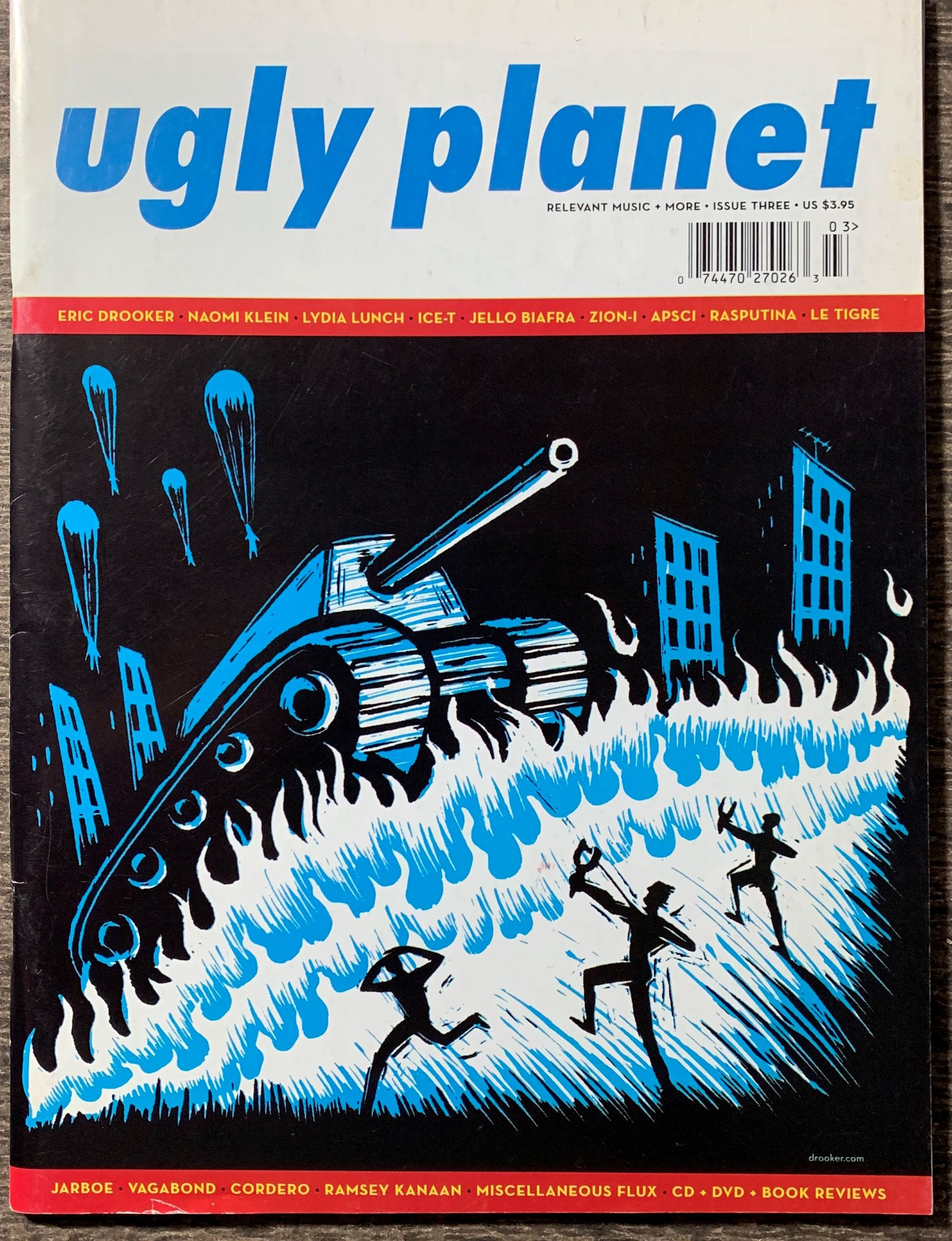 Image for Ugly Planet.  Relevant Music, More, Issue Three.