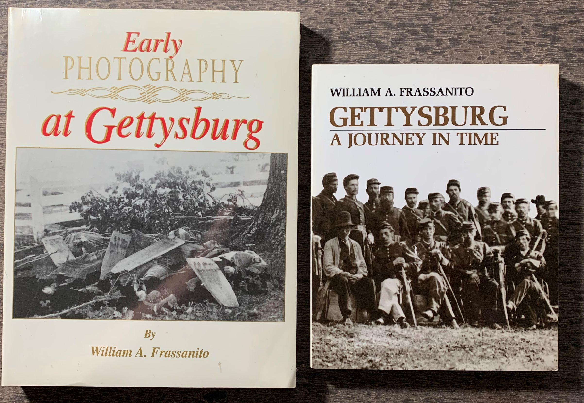 Image for [Two Titles] Early Photography at Gettysburg, [together with] Gettysburg, Journey in Time.