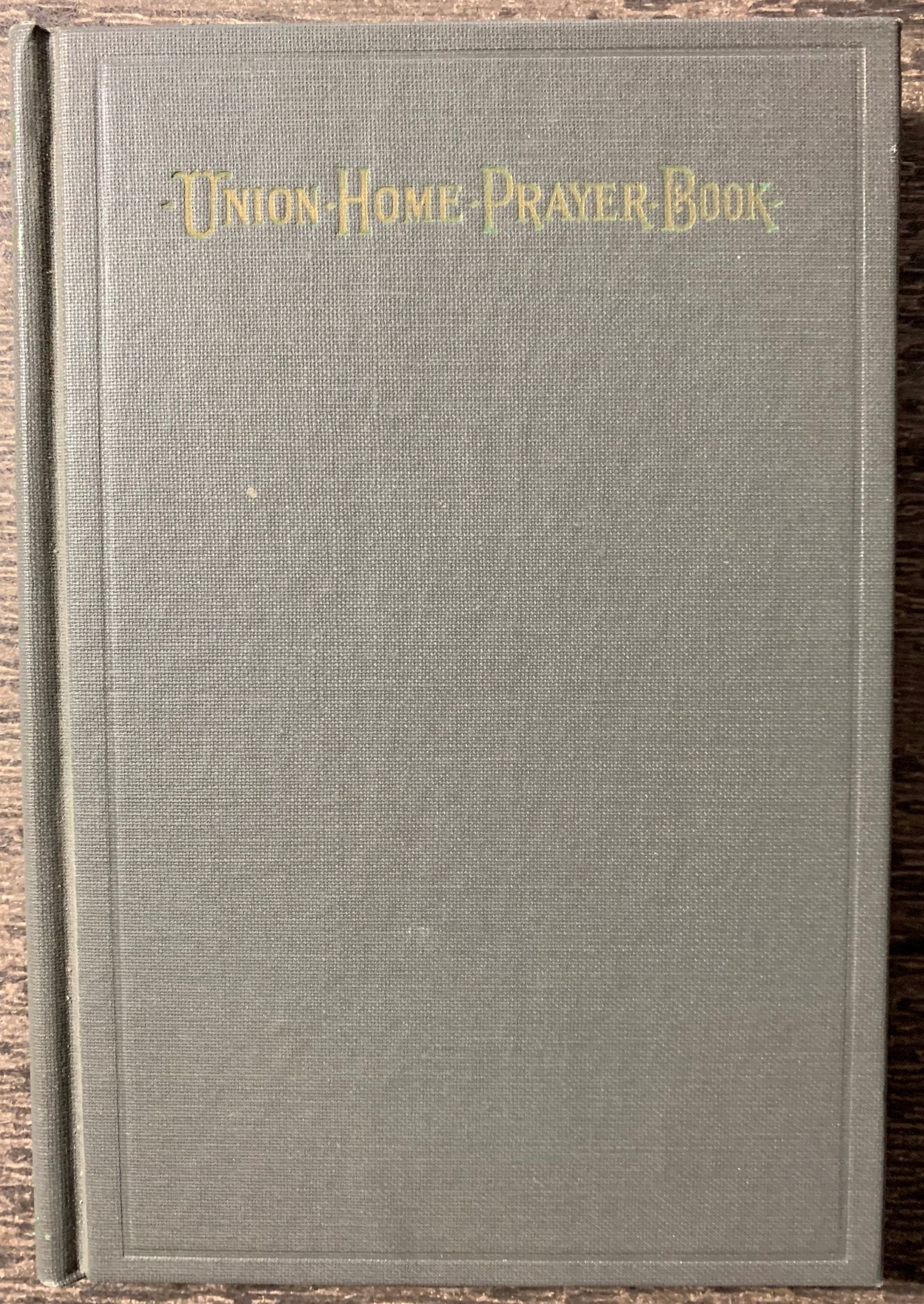 Image for Union Home Prayer Book.