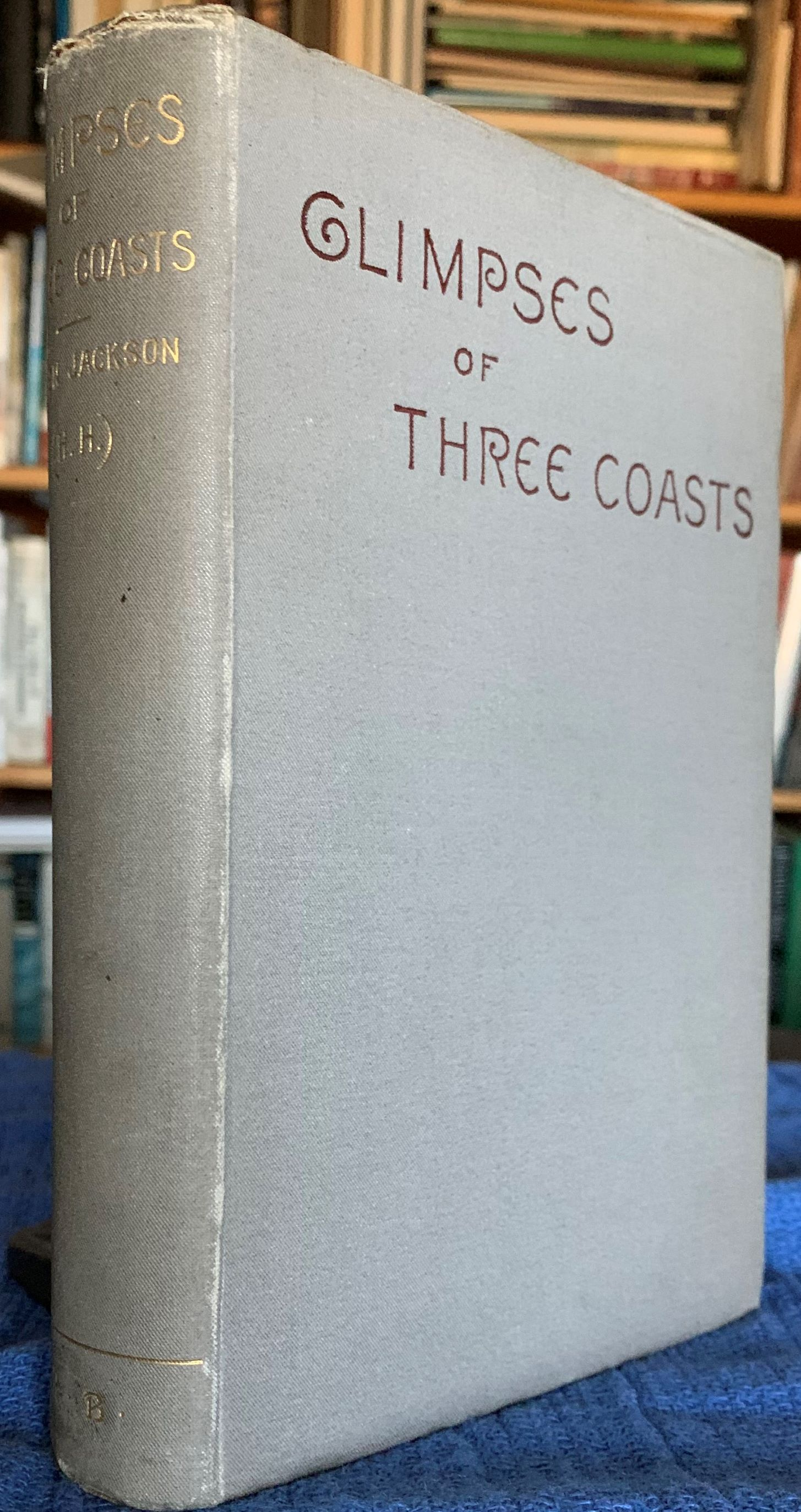 Image for Glimpses of Three Coasts.