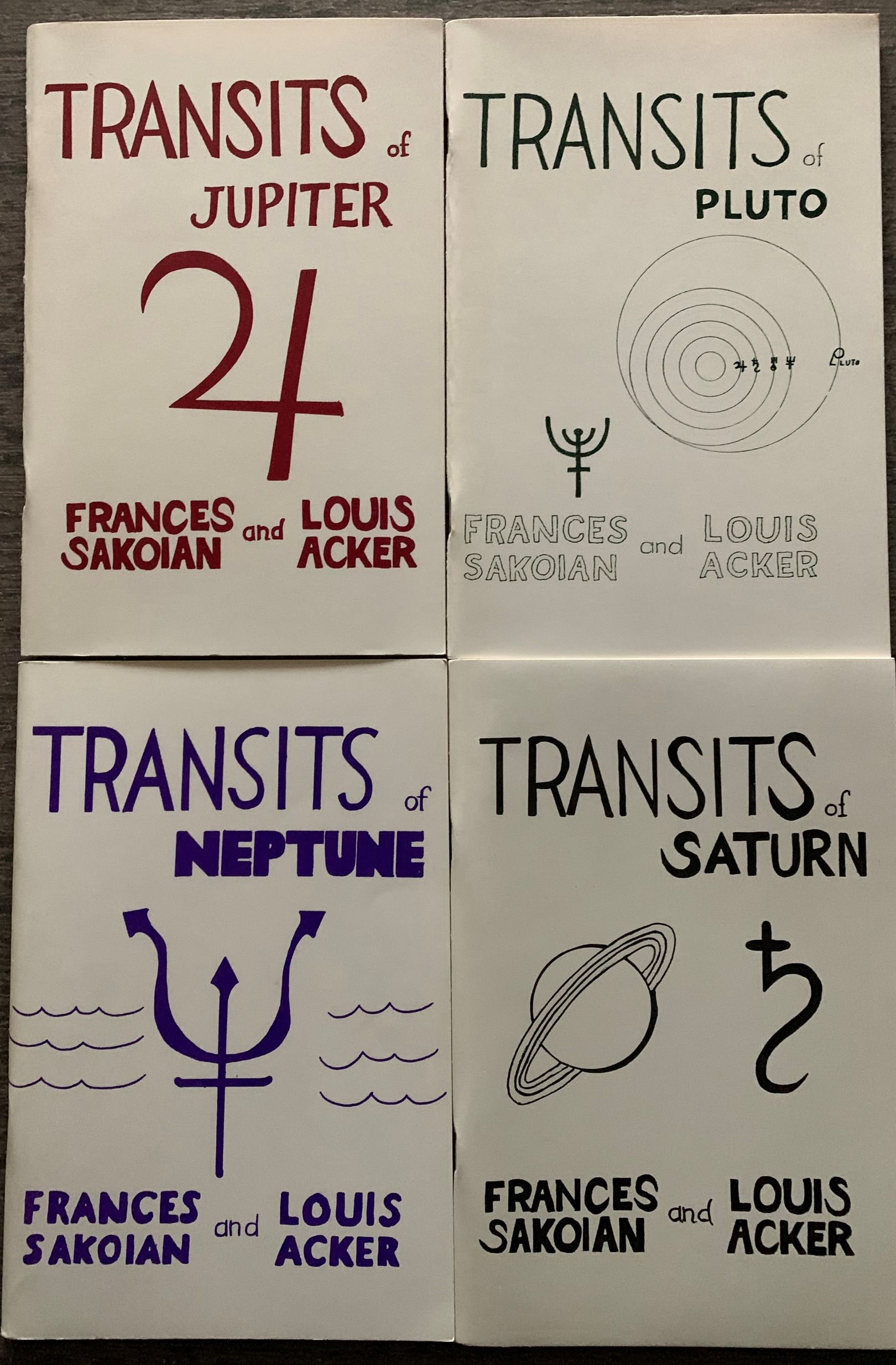 Image for [4 Titles] Transits of Neptune, Saturn, Pluto, Jupiter.