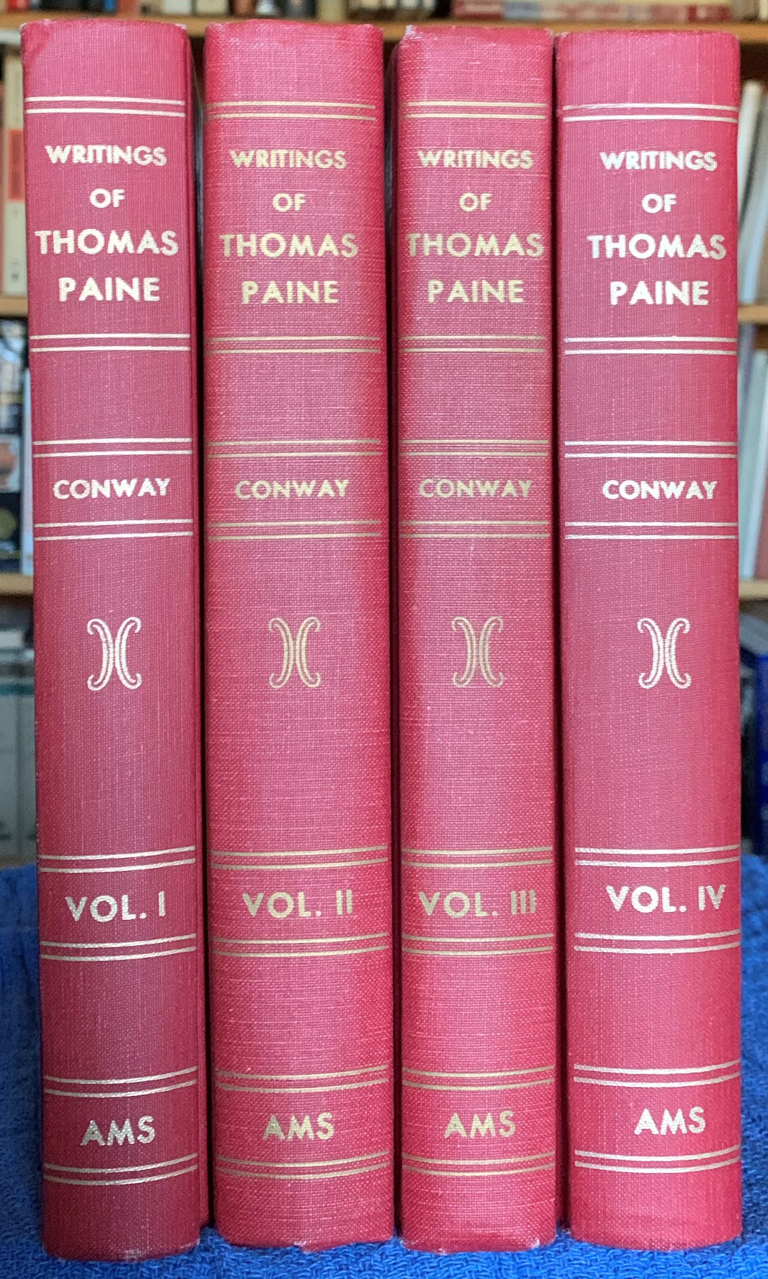 Image for The Writings of Thomas Paine. [4 vols. complete]  Collected and Edited by Moncure Daniel Conway.