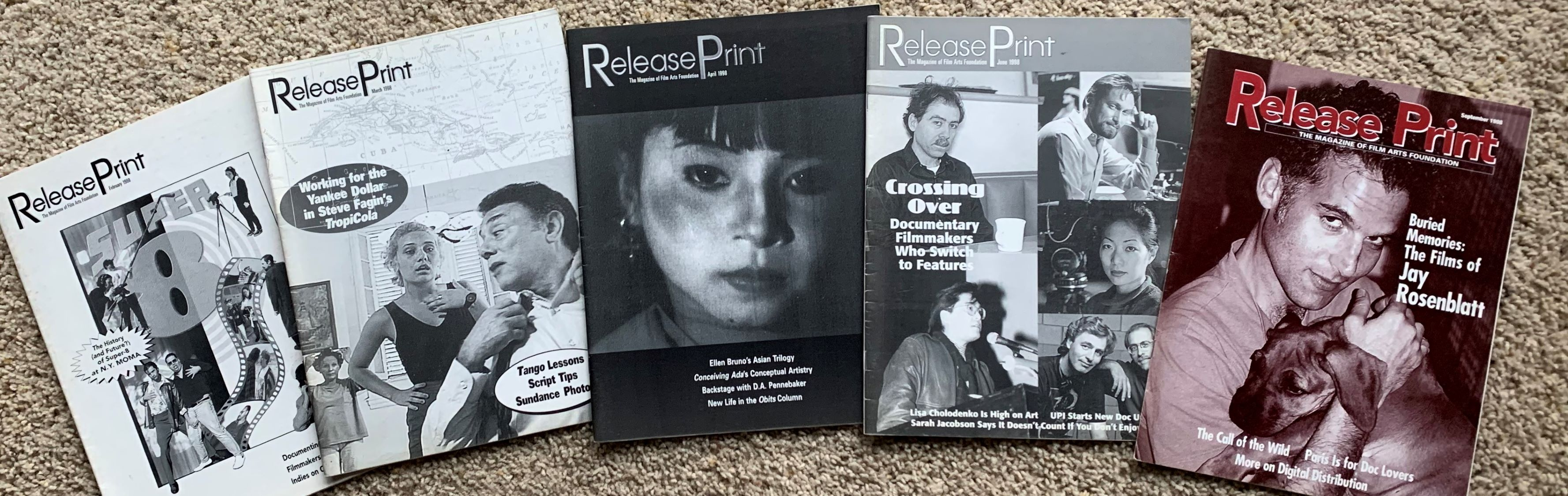 Image for [Partial runs, 37 Issues] Release Print, the magazine of the Film Arts Foundation.