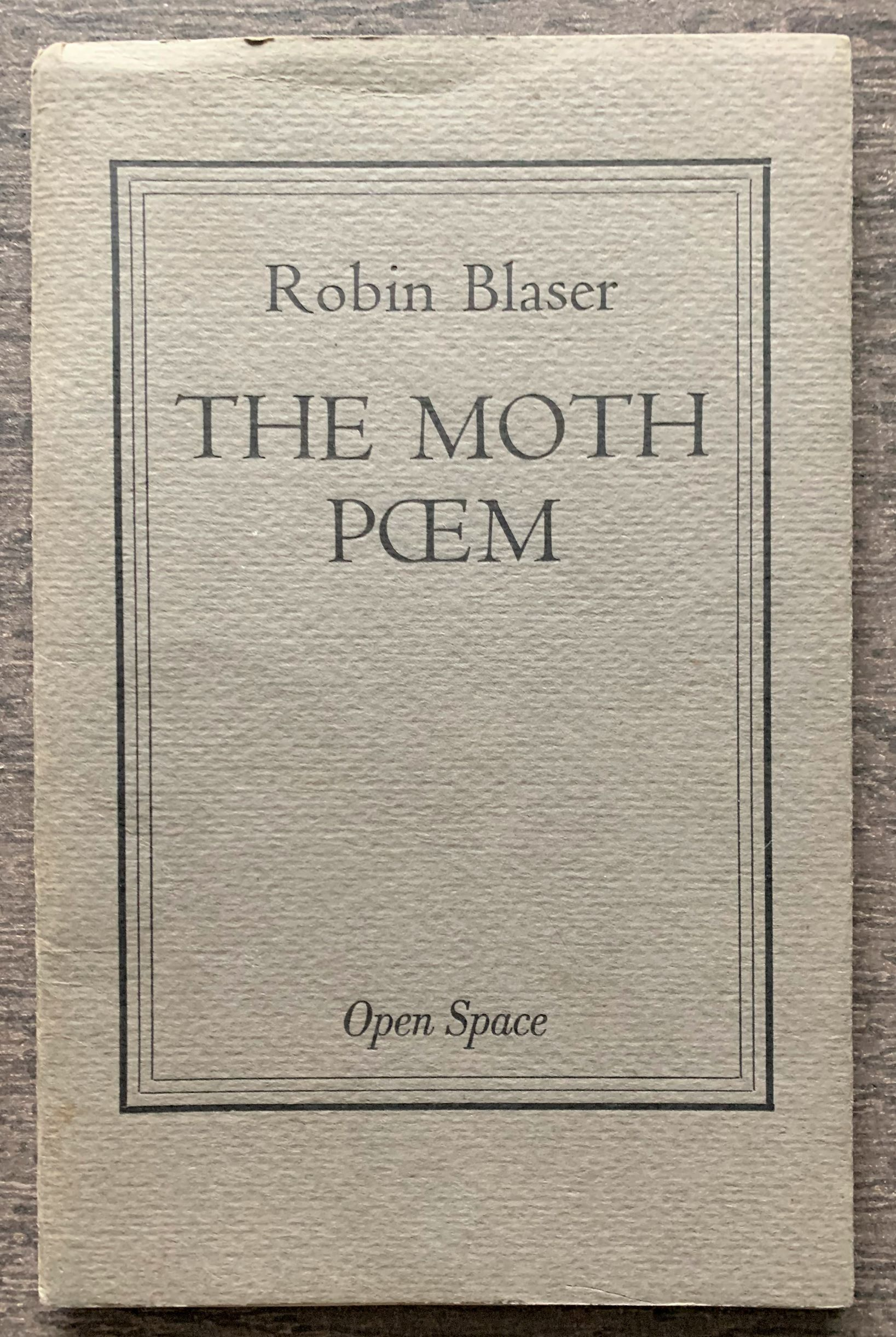 Image for The Moth Poem.