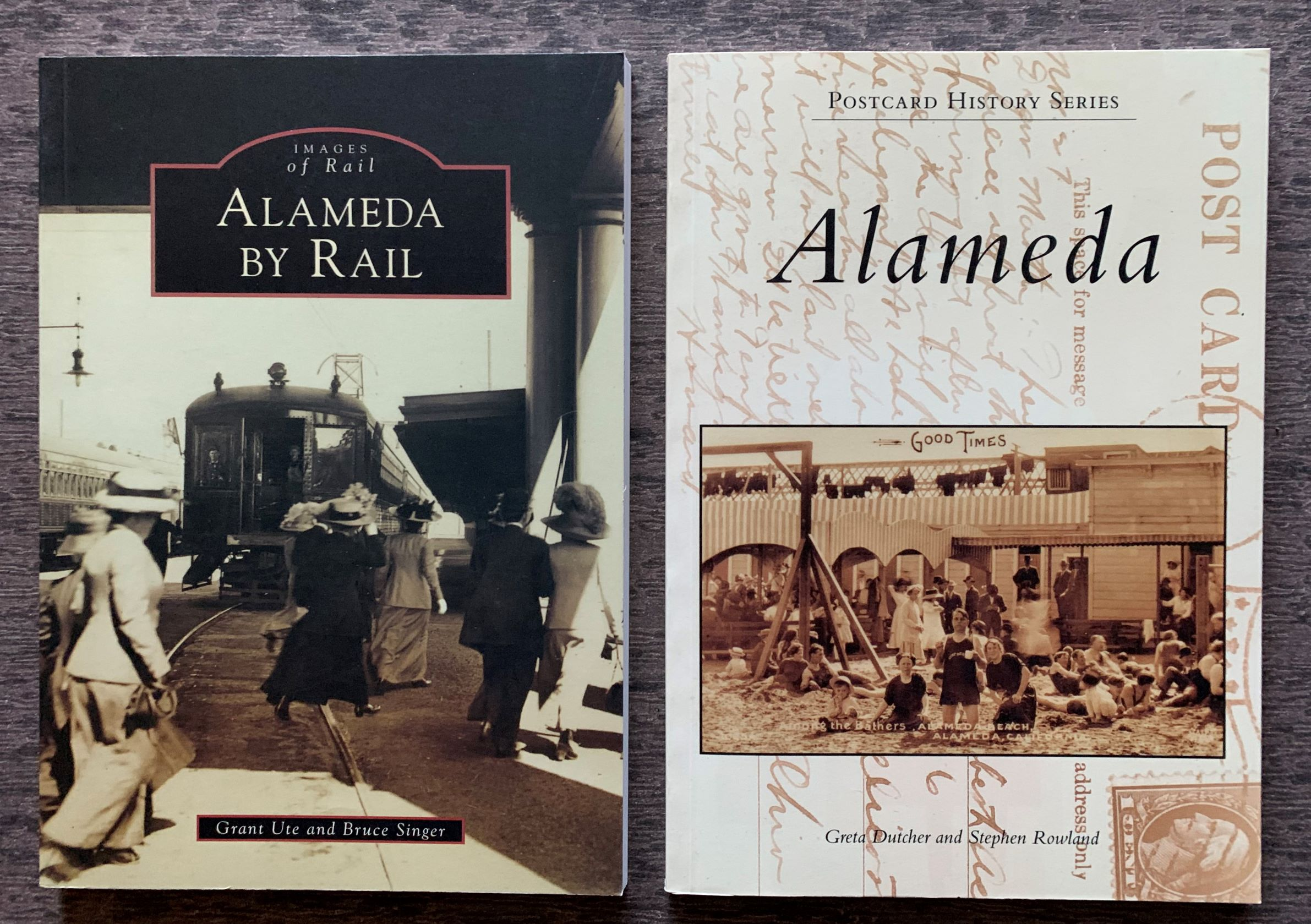Image for [Two Titles] Post Card History Series, Alameda; together with, Images of Rail Series, Alameda by Rail.