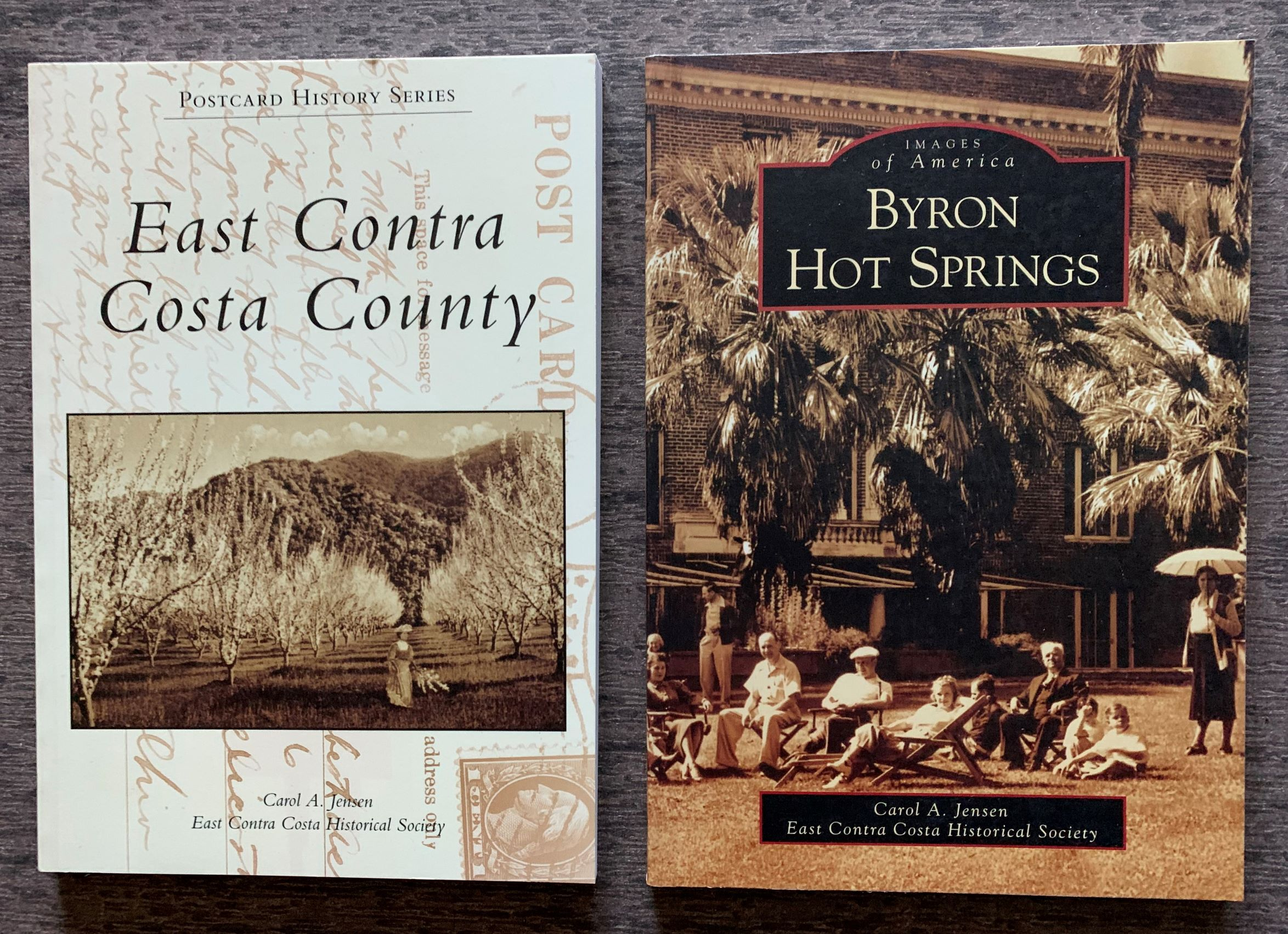 Image for [Two Titles]  Images of America, Byron Hot Springs; Postcard History Series, East Contra Costa County.