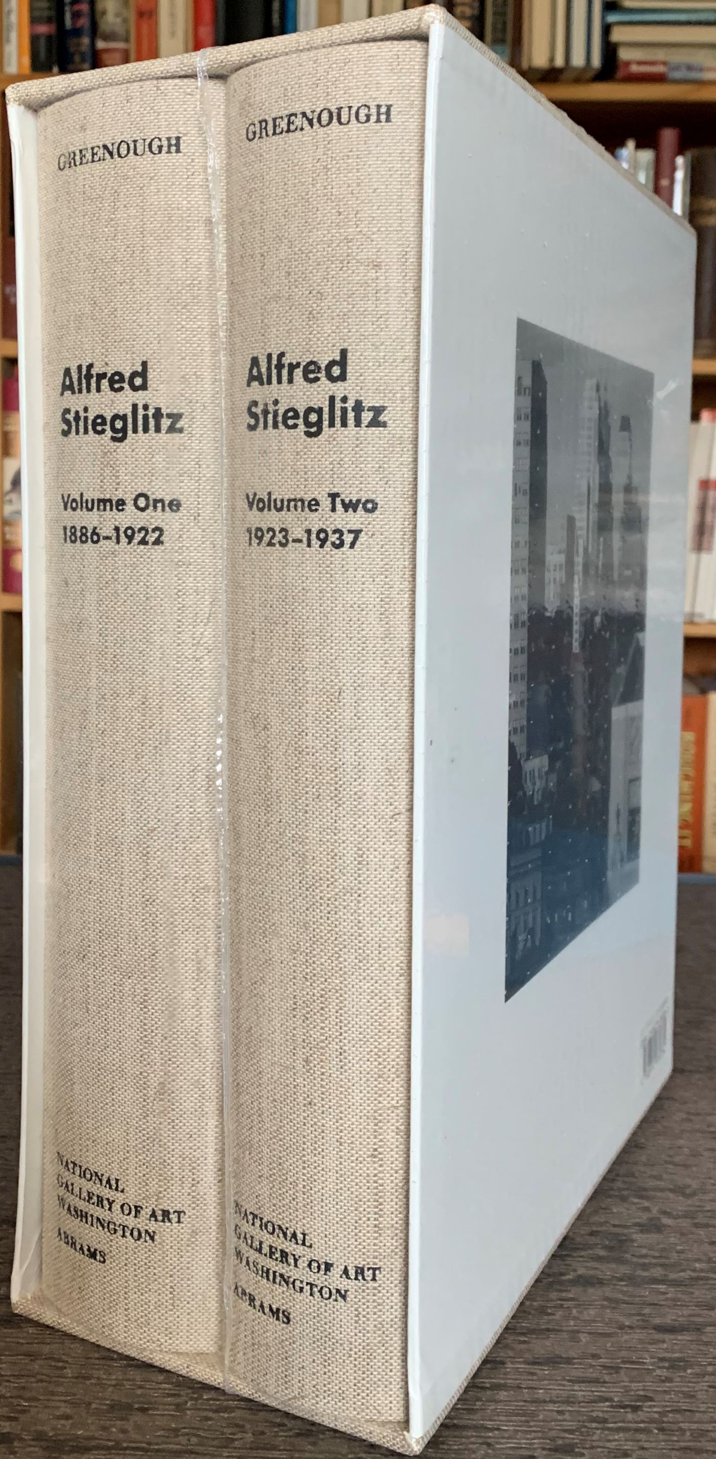 Image for Alfred Stieglitz: The Key Set; The Alfred Stieglitz Collection of Photographs (2 vols.).  [Still in original shrinkwrap and shipping box with handle]