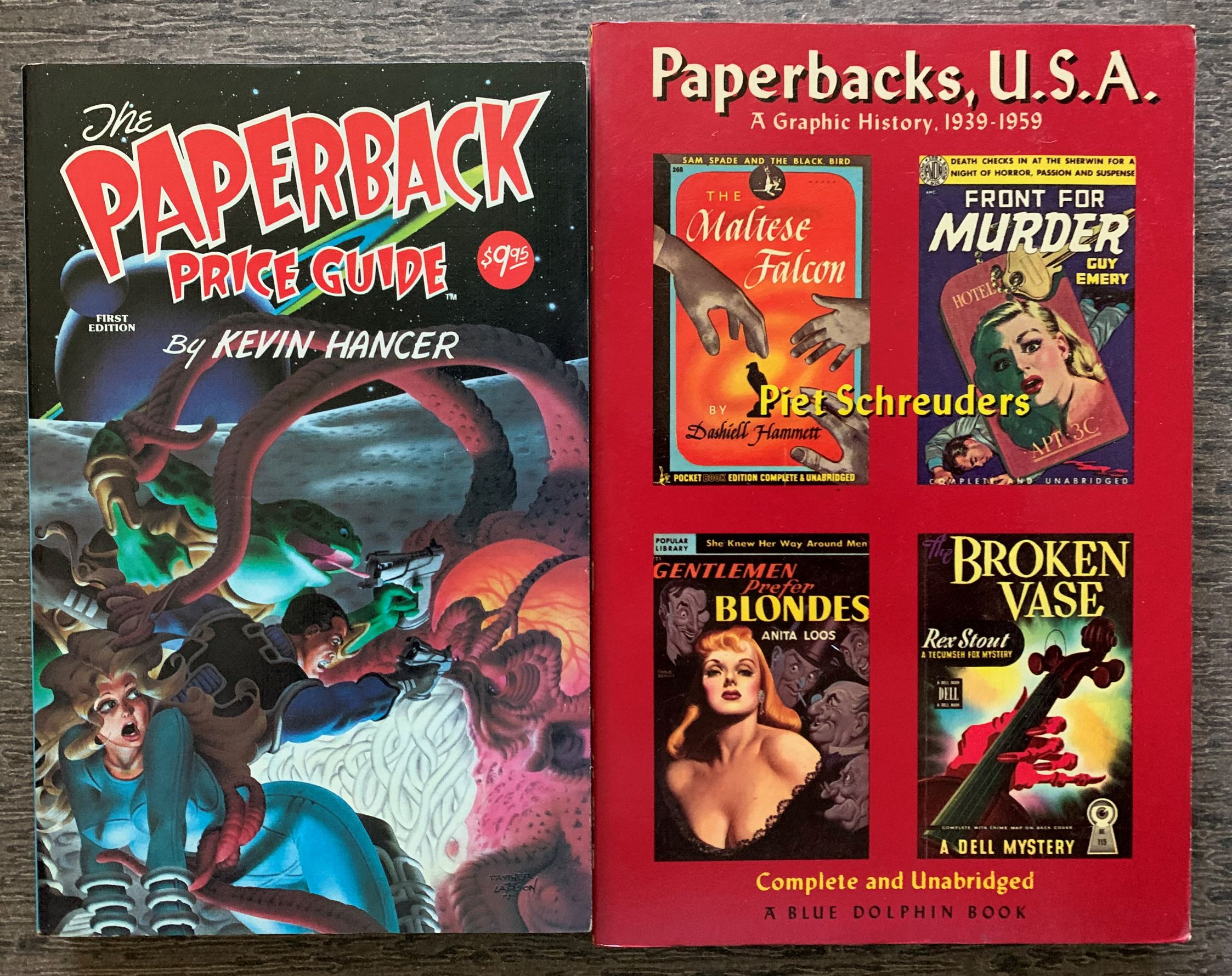 Image for [Two Titles] The Paperback Price Guide, together with; Paperbacks, U. S. A., A Graphic History, 1939-1959.