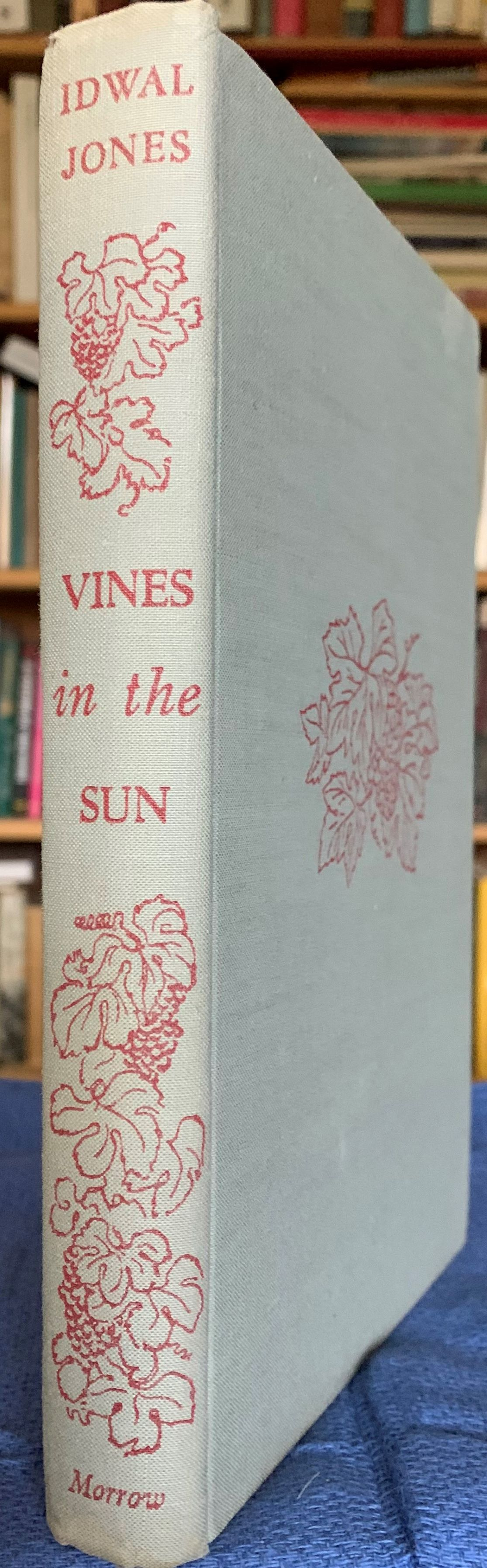 Image for Vines in the Sun: a Journey Through the California Vinyards [inscribed by the author].