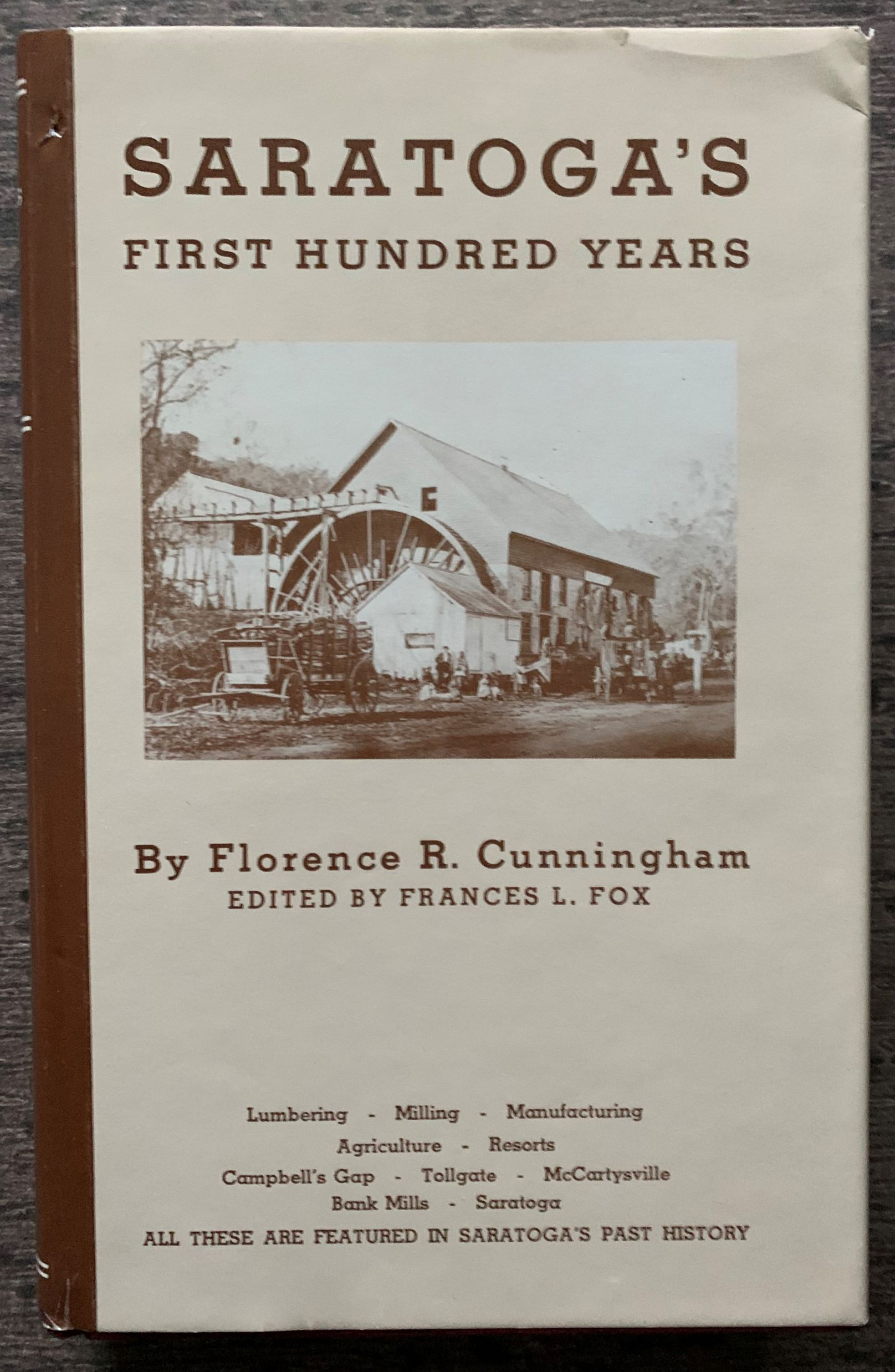 Image for Saratoga's First Hundred Years.