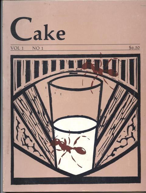 Image for Cake. Vol 1, No. 1.