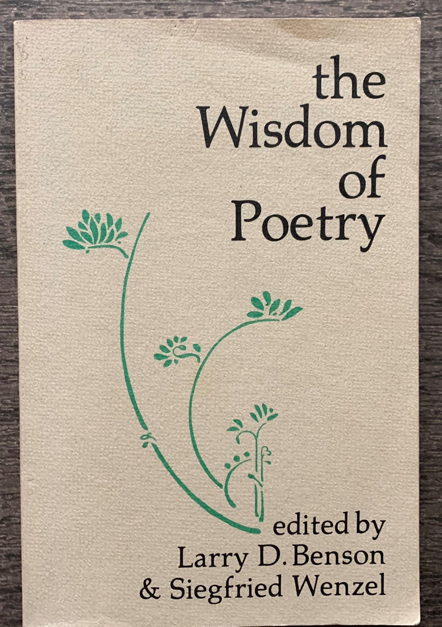 Image for The Wisdom of Poetry: Essays in Early English Literature in Honor of Morton W. Bloomfield.