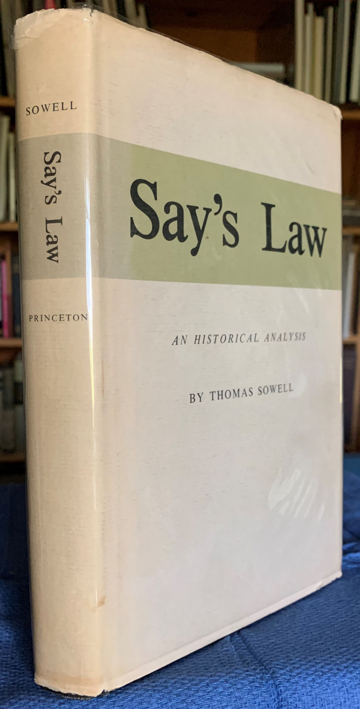 Image for Say's Law, An Historical Analysis.