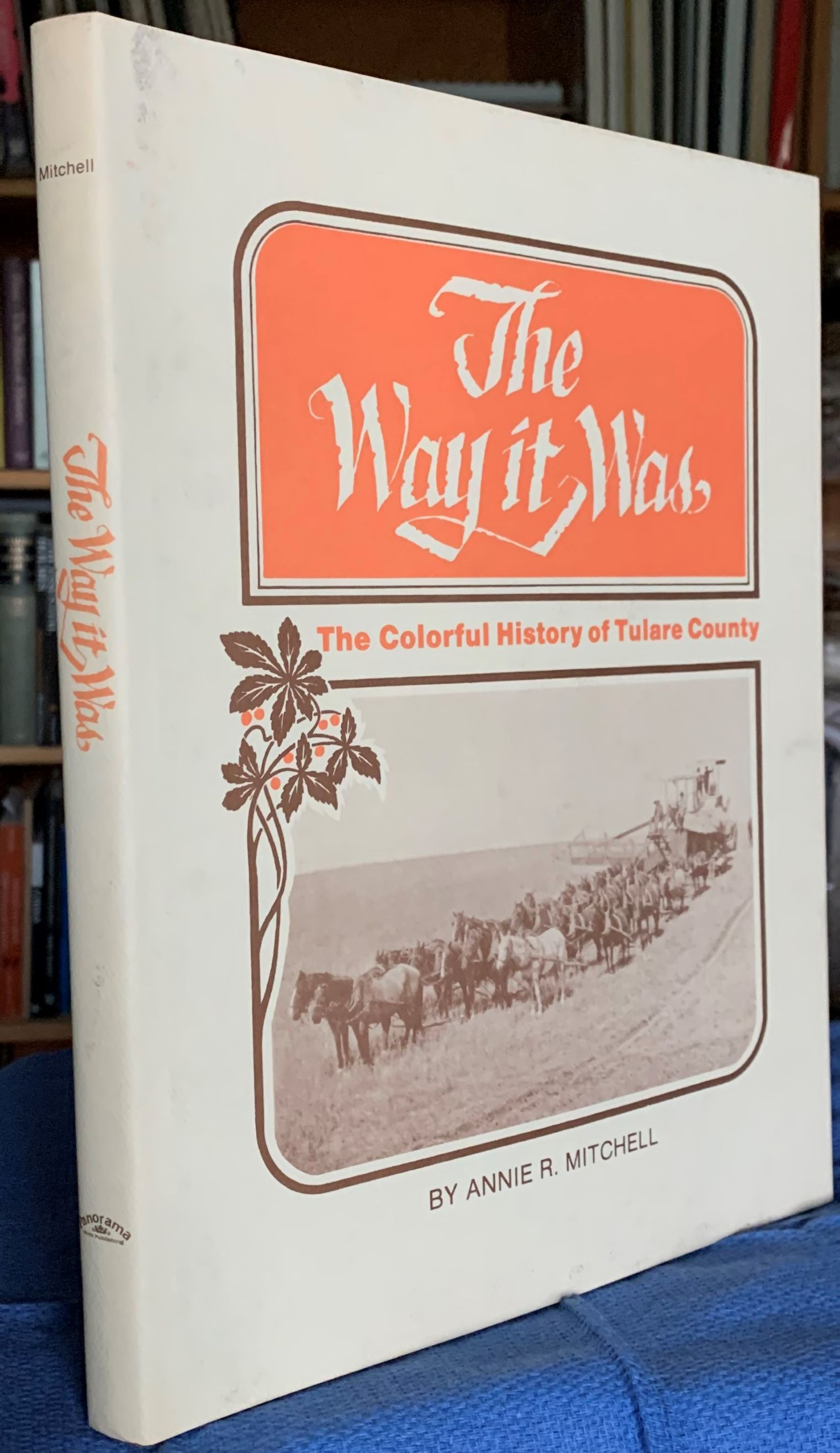 Image for The Way it Was, The Colorful History of Tulare County,