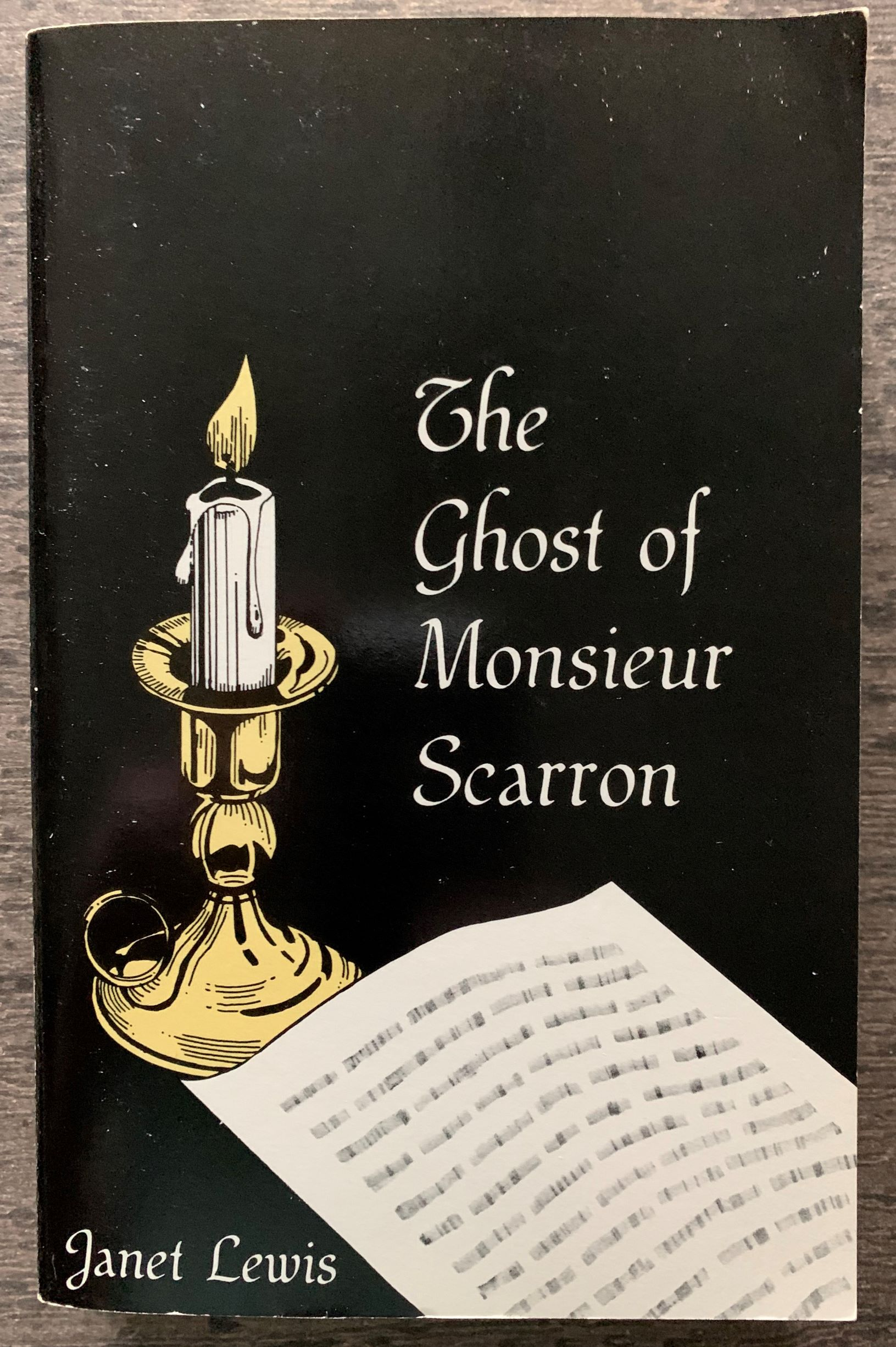 Image for The Ghost of Monsieur Scarron.