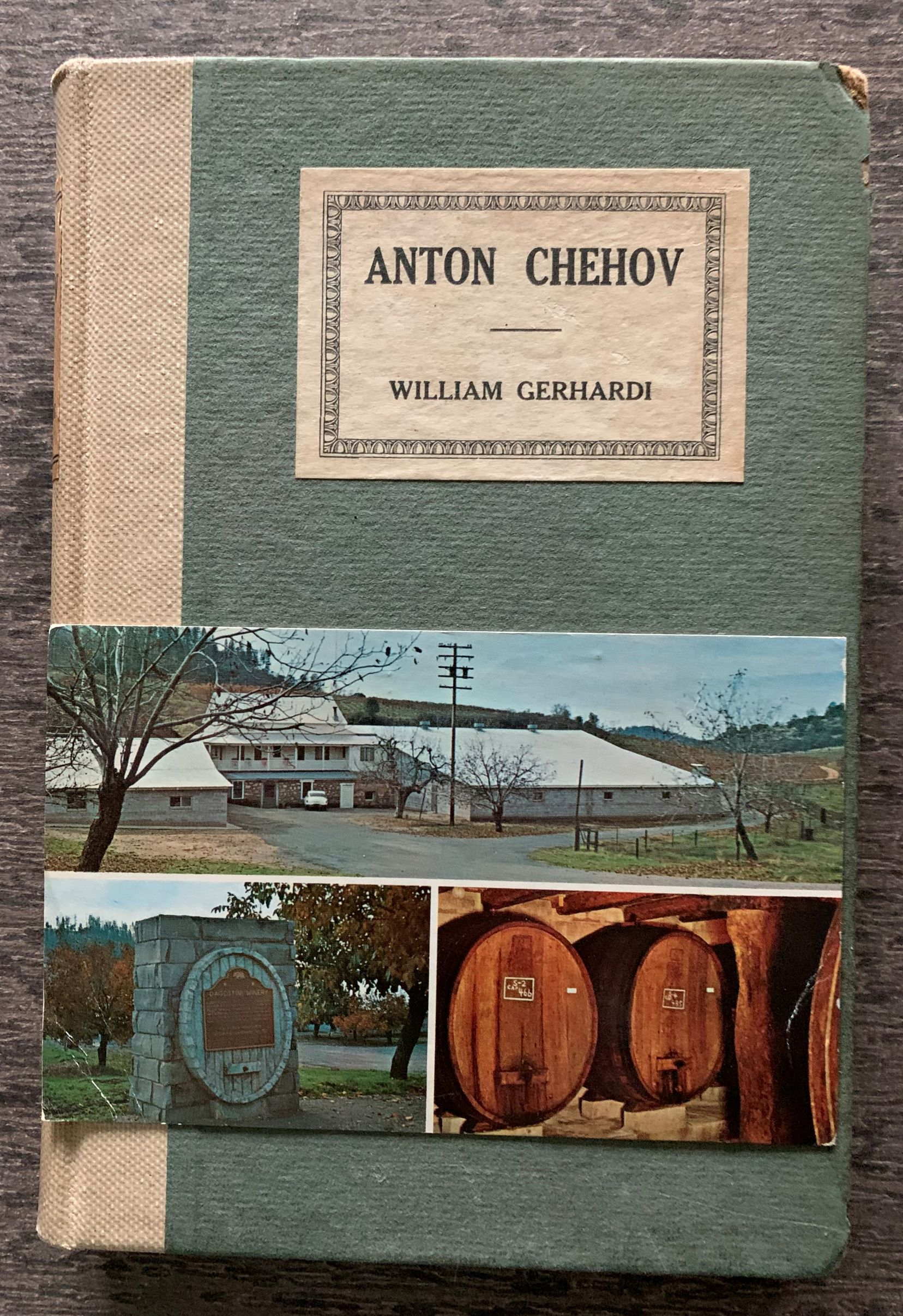 Image for Anton Chehov, A Critical Study.  [with a postcard laid in from Richard Dillon to Barney Rosenthal]