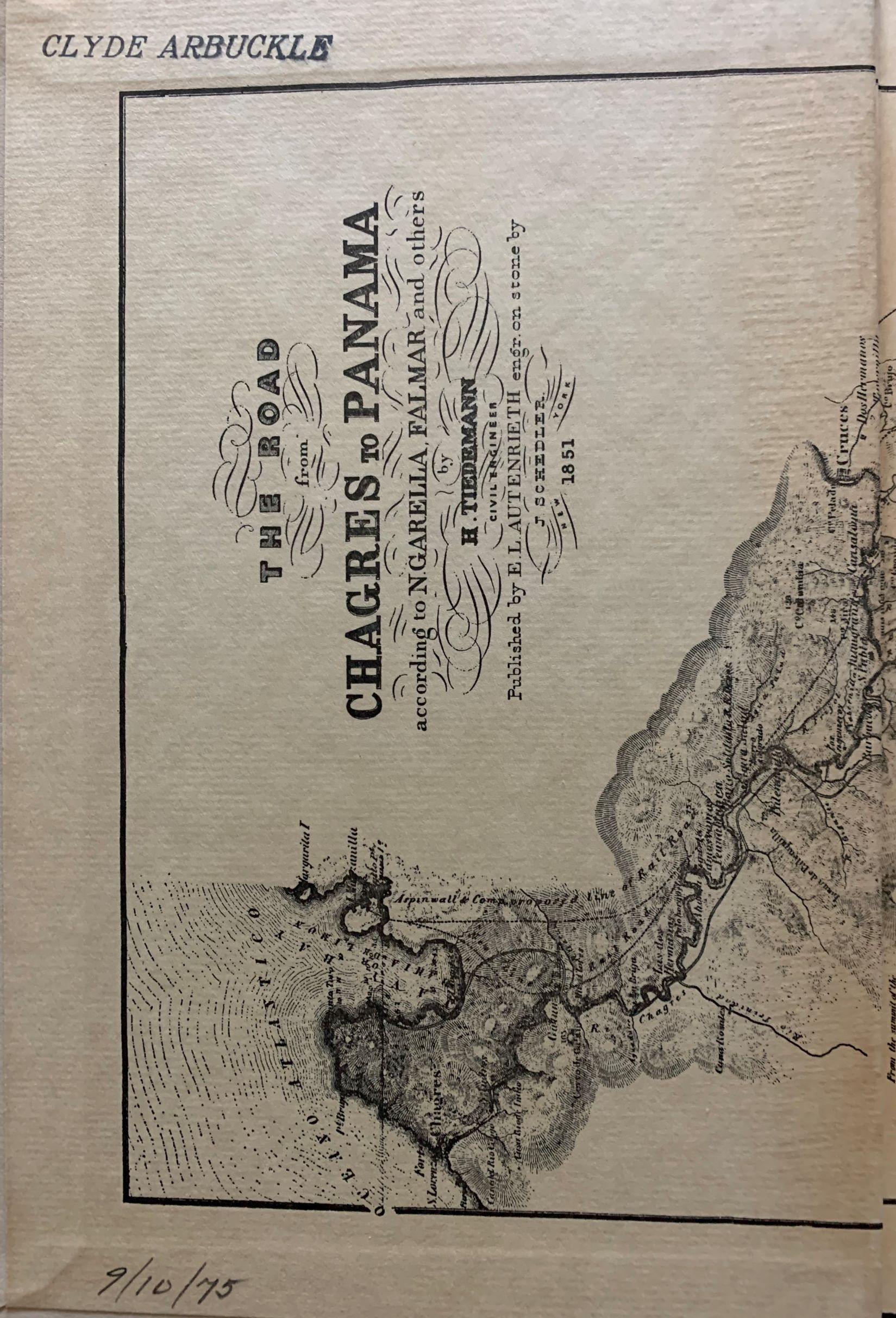 Image for California as I Saw It: Pencillings by the Way of its Gold and Gold Diggers, and Incidents of Travel by Land and Water. With Five Letters from the Isthmus. [historian Clyde Arbuckle's copy, inscribed by the editor to Charles L. Camp].
