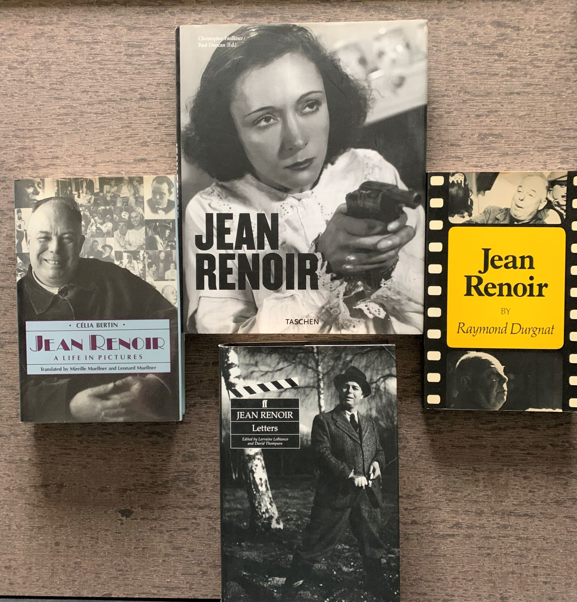 Image for [4 Titles] Jean Renoir; Jean Renoir, A Life in Pictures; Jean Renoir, Letters; Jean Renoir, A Conversation with His Films 1894-1979.