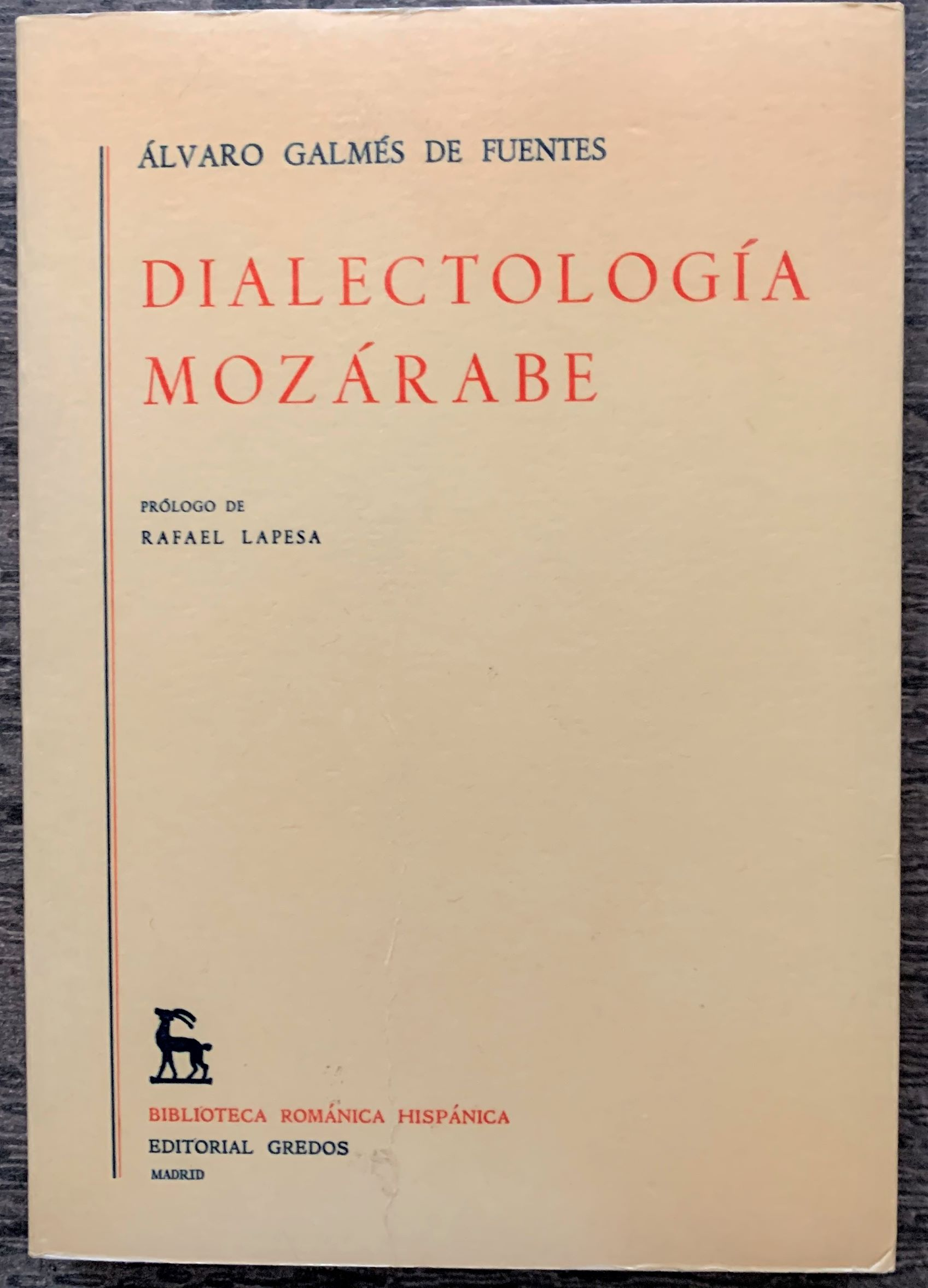Image for Dialectologia Mozarabe.