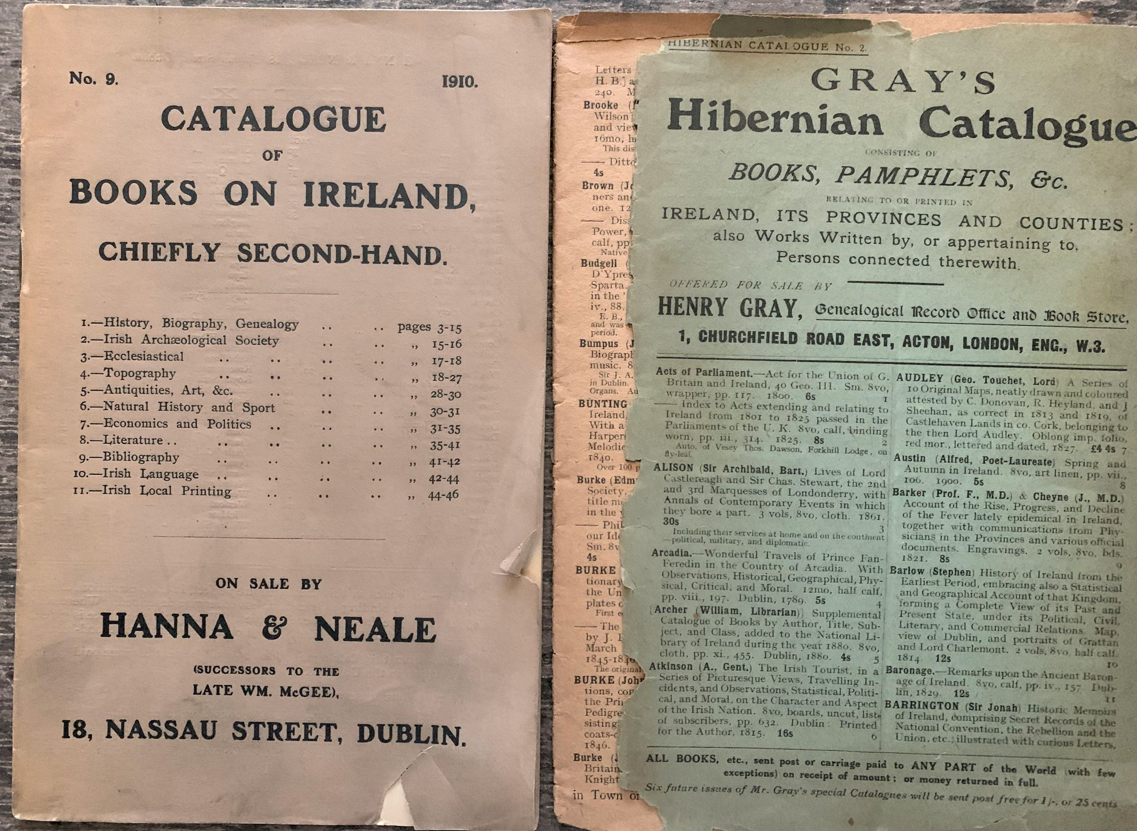 Image for Catalogue of Books Relating to Ireland.